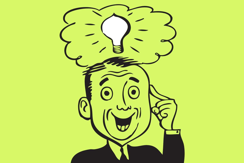 10 tips light bulb graphic